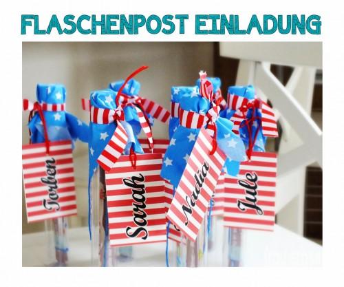 Flaschenpost Einladung 08