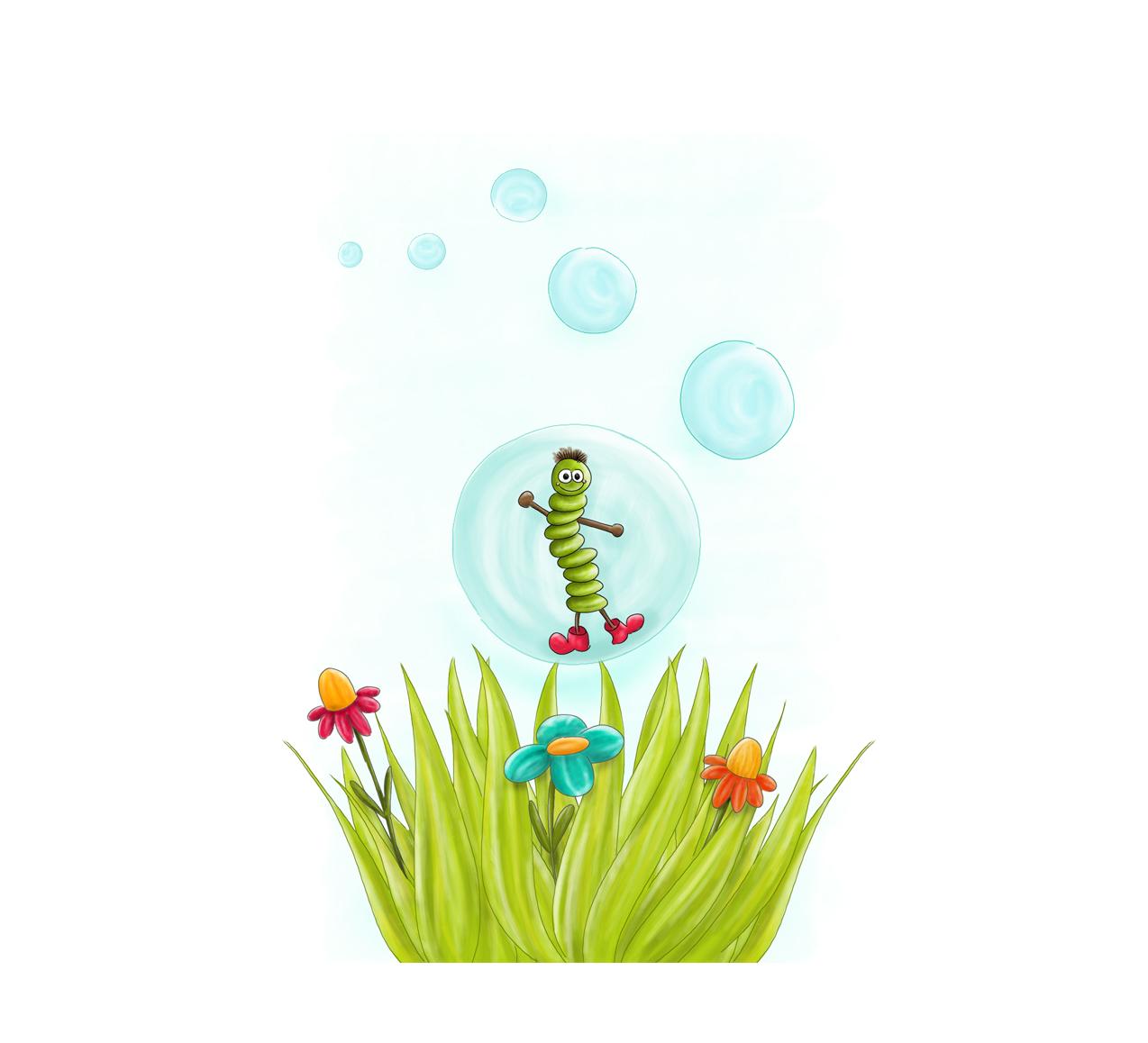 Kinderbuchillustration (digital)