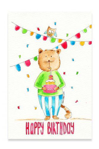 Portfolio_Happy Birthday Katze