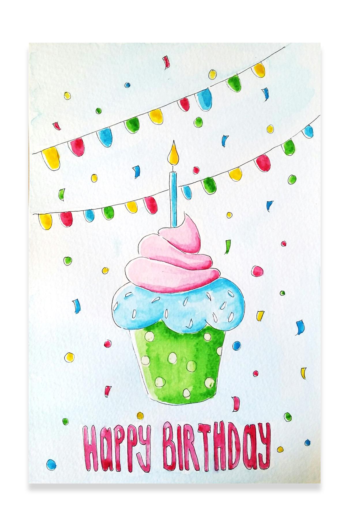 Portfolio_Happy Birthday Muffin
