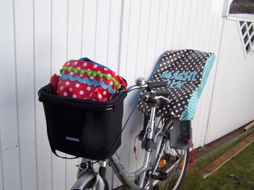 Sitzbezug Fahrradsitz 2