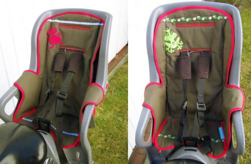 Sitzbezug Fahrradsitz
