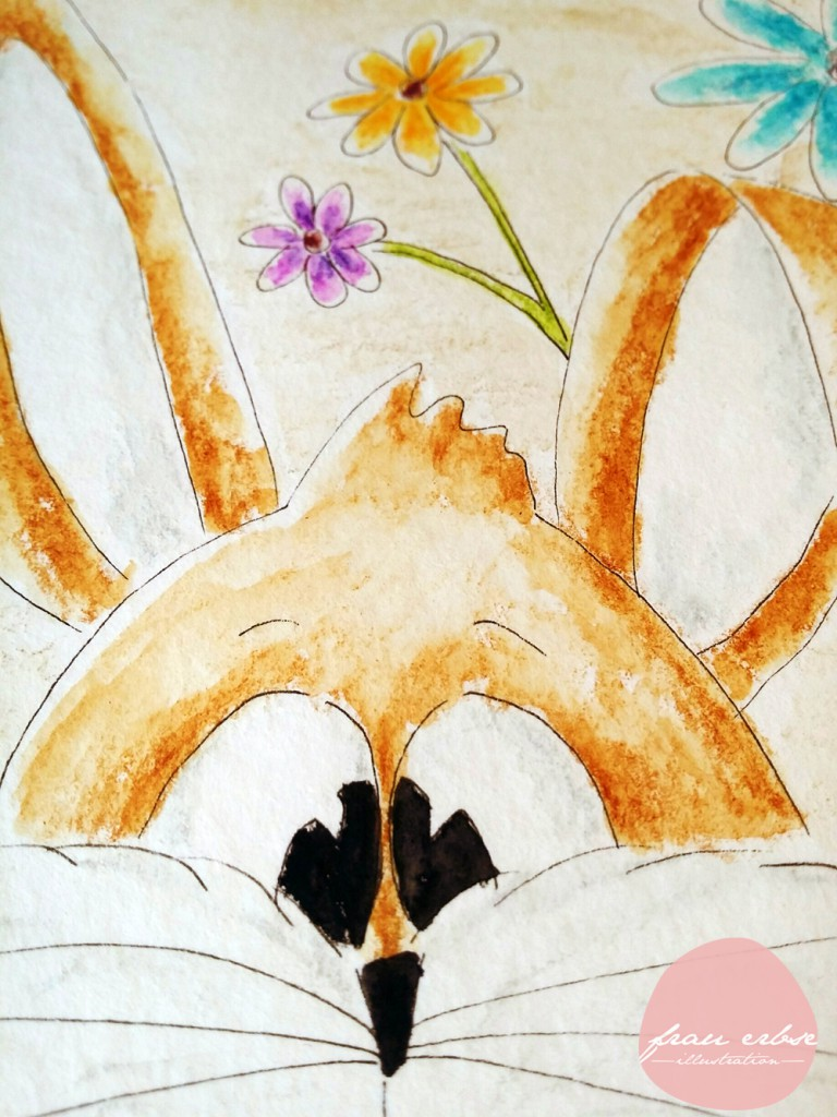 Osterhase Aquarell