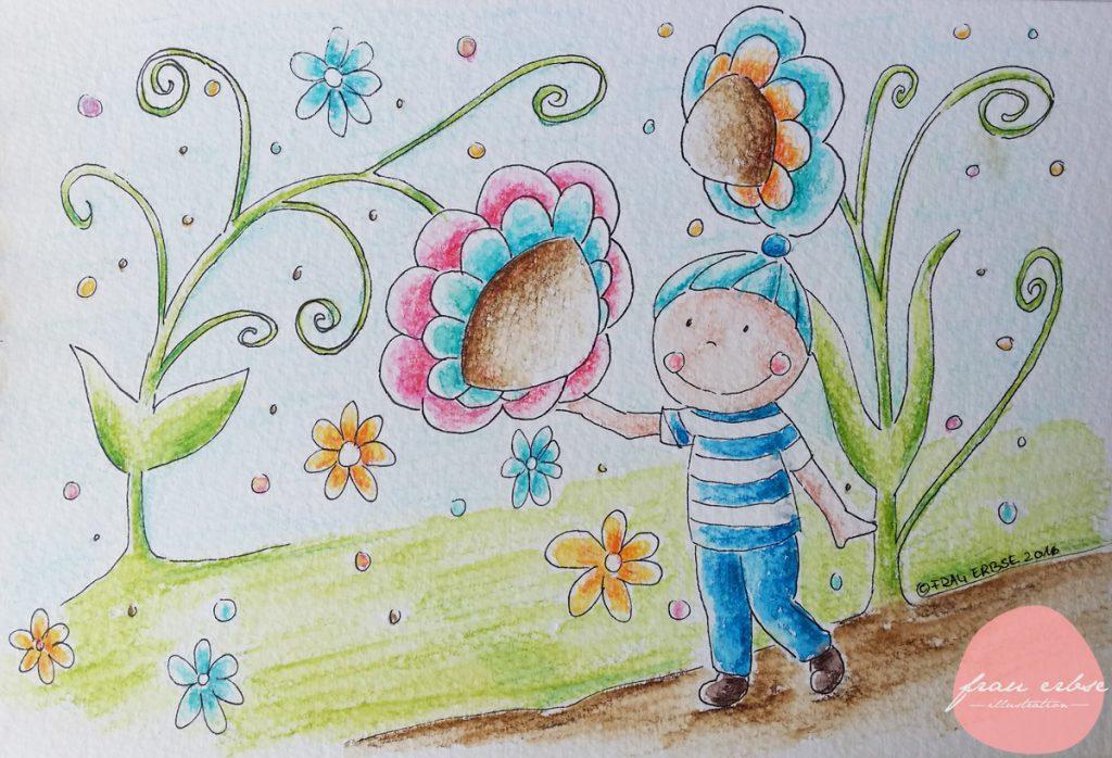 Blumenjunge 1
