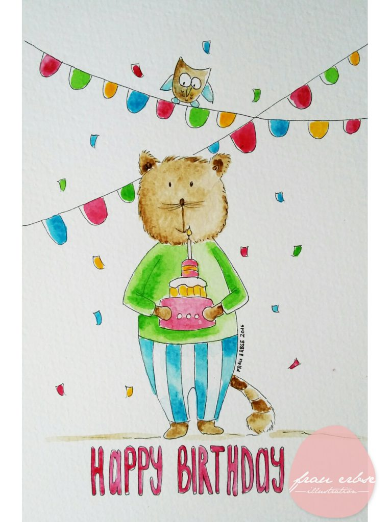 Happy Birthday Katze 1