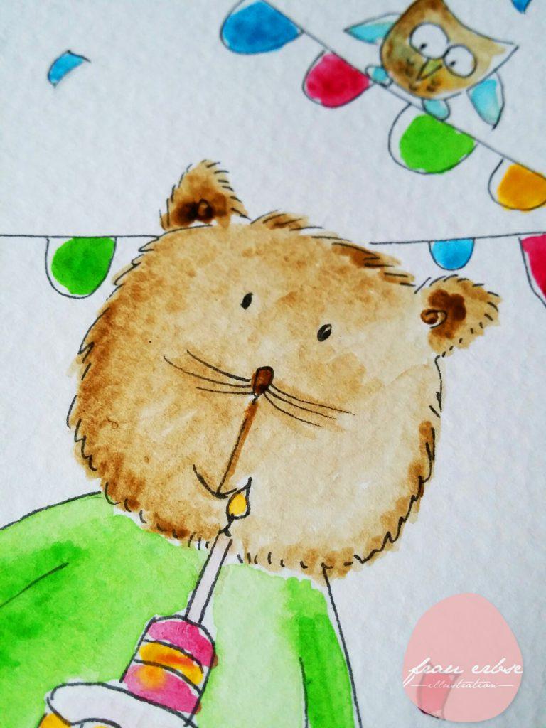 Happy Birthday Katze 3