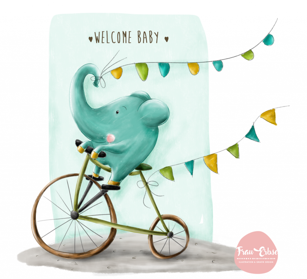 Welcome Baby • Illustration