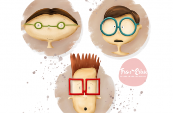 Portfolio_Nerd Faces