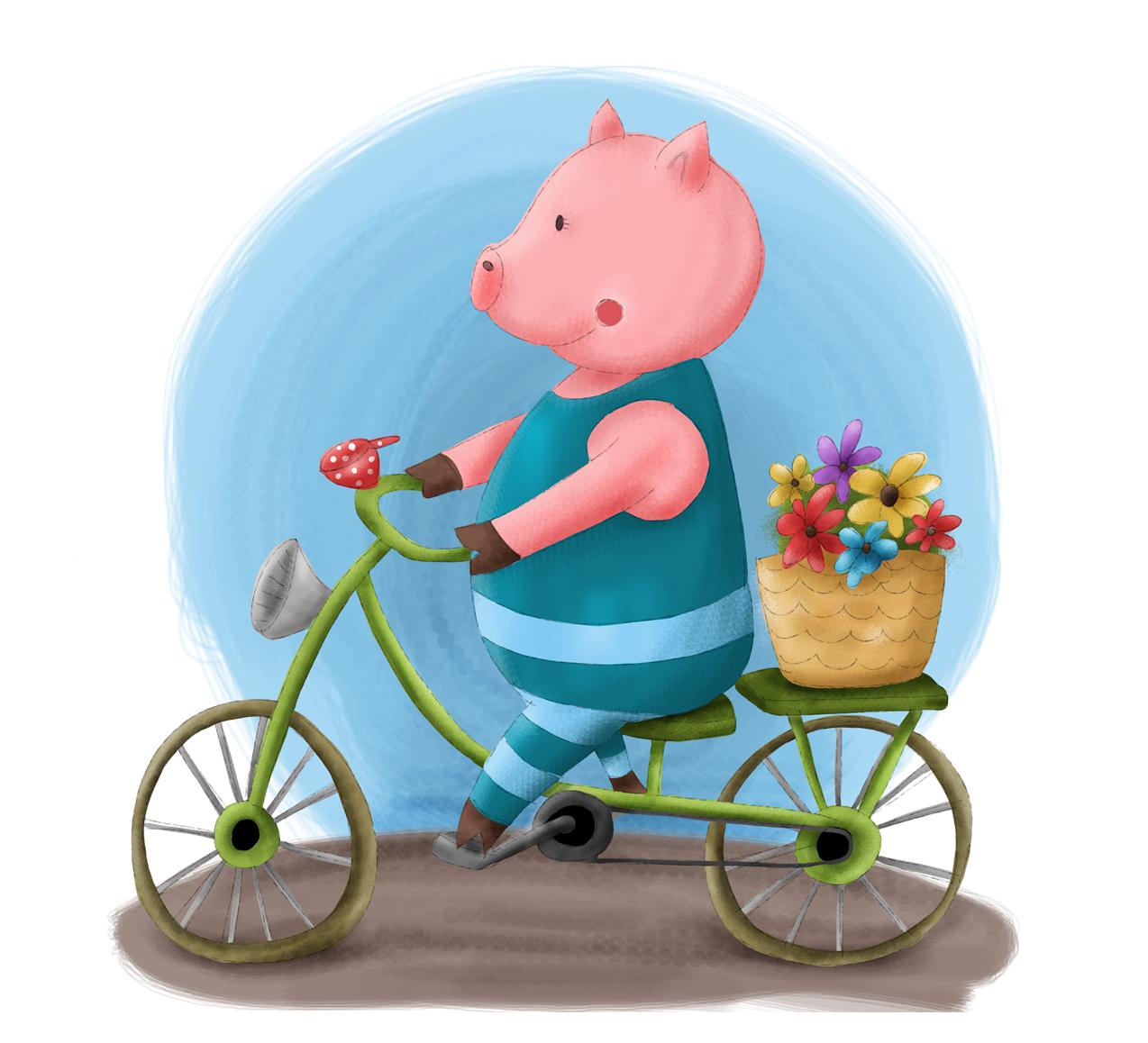 Illustration Schweinchen