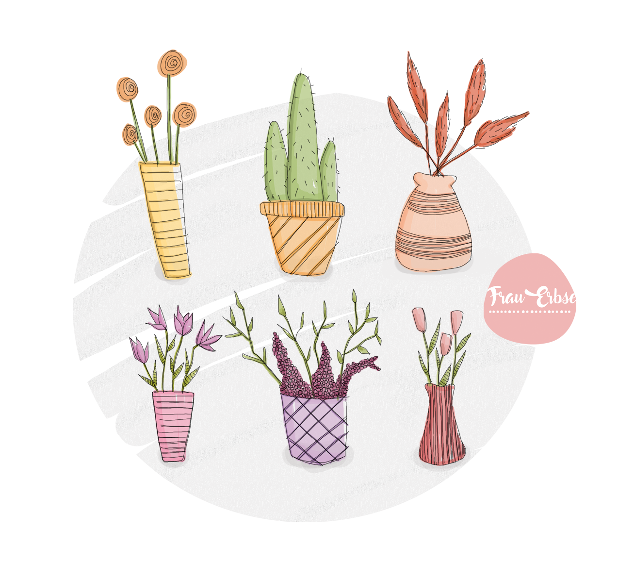 Pflanzenillustration
