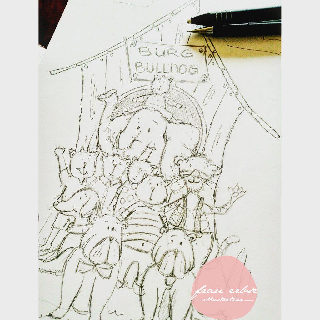 """Buchillustration """"Schubladendenken"""""""