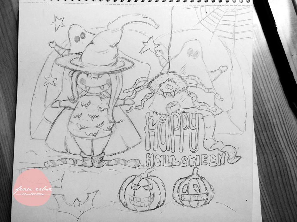 Halloween 2016 [Skizze]