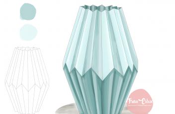 _Portfolio_Produktillu Vase hoch