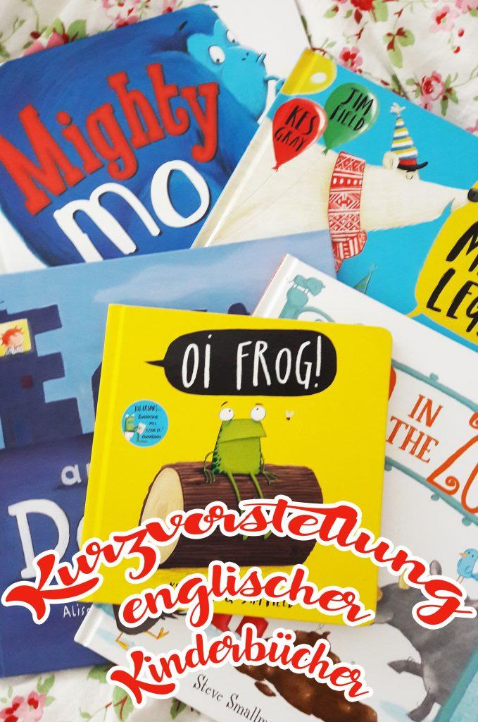 Kurzvorstellung englischer Kinderbücher
