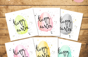 Werbebild Printable Happy Easter