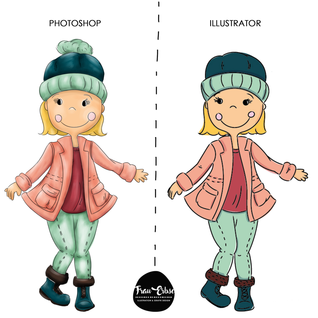 Photoshop oder Illustrator Illustration?