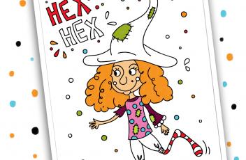 Werbung Hex Hex Ausmalbild