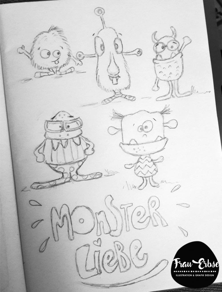Monsterfigurentwicklung als Kunstthema?